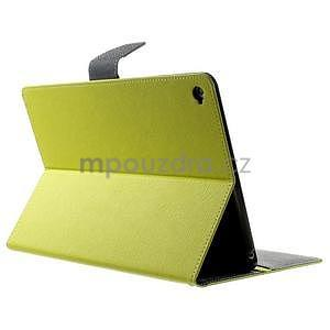 Excelent Diary puzdro pre iPad Air 2 - zelené - 4