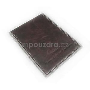 Envelope univerzálne púzdro na tablet 26.7 x 20 cm - coffee - 4