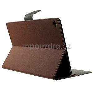Excelent Diary puzdro pre iPad Air 2 - hnedé - 4