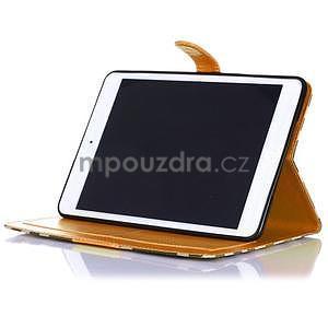 Fashion style puzdro pre iPad Air 2 - svetlohnedé - 4