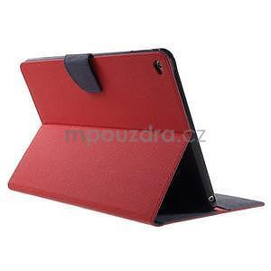 Excelent Diary puzdro pre iPad Air 2 - červené - 4