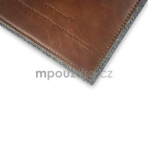 Envelope univerzálne púzdro na tablet 26.7 x 20 cm - hnedé - 4