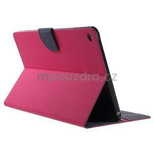 Excelent Diary puzdro pre iPad Air 2 - rose - 4