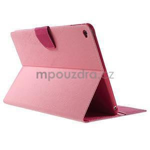Excelent Diary puzdro pre iPad Air 2 - ružové - 4