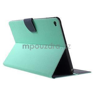 Excelent Diary puzdro pre iPad Air 2 - azúrové - 4