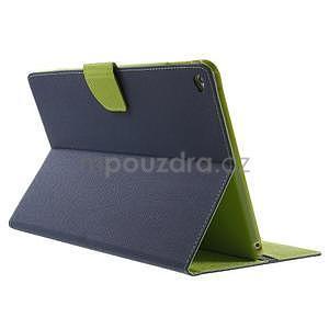 Excelent Diary puzdro pre iPad Air 2 - tmavomodré - 4