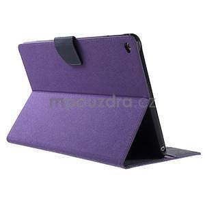 Excelent Diary puzdro pre iPad Air 2 - fialové - 4
