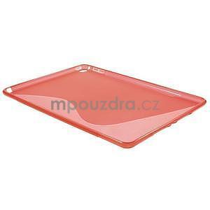 S-line gélový obal pre iPad Air 2 - červený - 4