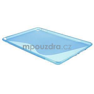 S-line gélový obal na iPad Air 2 - modrý - 4