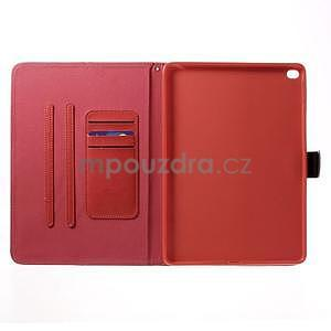 Daffi elegantné puzdro na iPad Air 2 - červené - 4