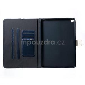 Daffi elegantné puzdro pre iPad Air 2 - tmavomodré - 4