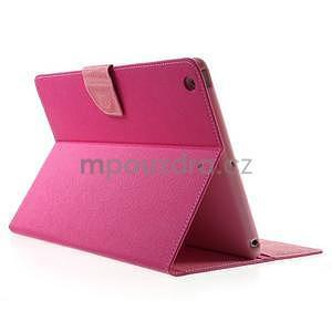 Diary peňaženkové puzdro na iPad Air - rose - 4