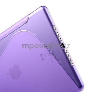 S-line gélový ochranný obal na iPad Air - fialový - 4