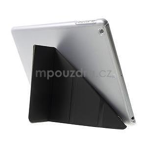 Origami ochranné puzdro pre Apple iPad Air - čierne - 4
