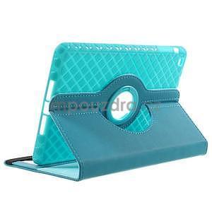 Circu otočné puzdro pre Apple iPad Mini 3, iPad Mini 2 a ipad Mini - modré - 4