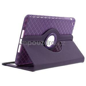 Circu otočné puzdro na Apple iPad Mini 3, iPad Mini 2 a ipad Mini - fialové - 4