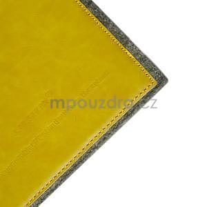 Envelope univerzálne púzdro na tablet 22 x 16 cm - žlté - 4