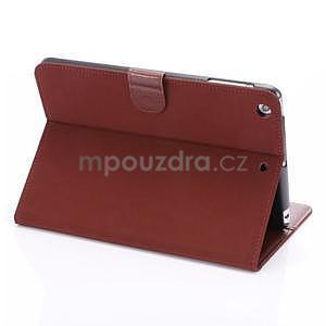 Cloth luxusné puzdro na Ipad Mini 3, Ipad Mini 2 a Ipad Mini - červené - 4