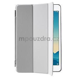 Classic troj polohové puzdro pre iPad Mini 3, ipad Mini 2 a na iPad Mini -  biele - 4