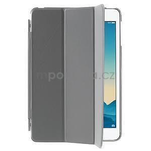 Classic tří polohové puzdro na iPad Mini 3, ipad Mini 2 a na iPad Mini -  šedé - 4