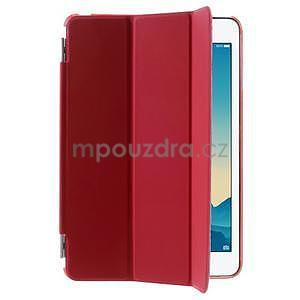 Classic tří polohové puzdro na iPad Mini 3, ipad Mini 2 a na iPad Mini -  červené - 4