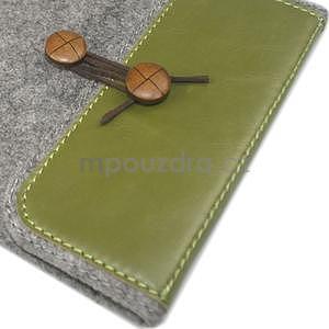 Envelope univerzálne púzdro na tablet 22 x 16 cm - zelené - 4