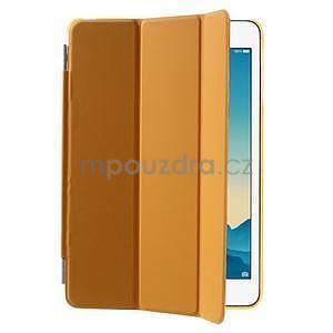 Classic troj polohové puzdro pre iPad Mini 3, ipad Mini 2 a na iPad Mini -  oranžová - 4
