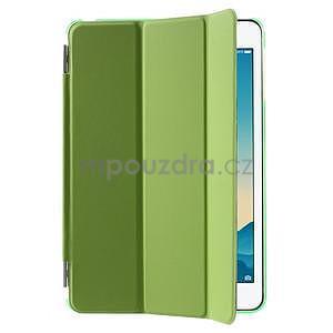 Classic troj polohové puzdro pre iPad Mini 3, ipad Mini 2 a na iPad Mini -  zelené - 4