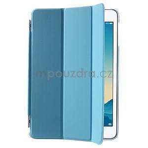 Classic tří polohové puzdro na iPad Mini 3, ipad Mini 2 a na iPad Mini -  modré - 4