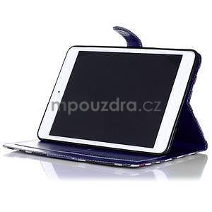 Costa puzdro na Apple iPad Mini 3, iPad Mini 2 a iPad Mini - tmavomodré - 4