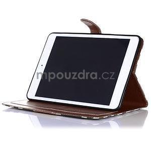 Costa puzdro pre Apple iPad Mini 3, iPad Mini 2 a iPad Mini - tmavohnedé - 4