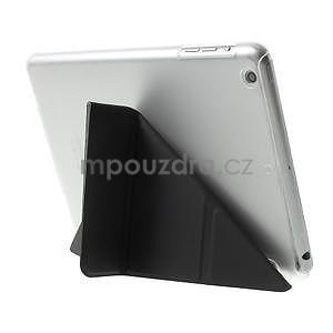 Origami ochranné puzdro iPad Mini 3, iPad Mini 2, iPad mini - čierne - 4