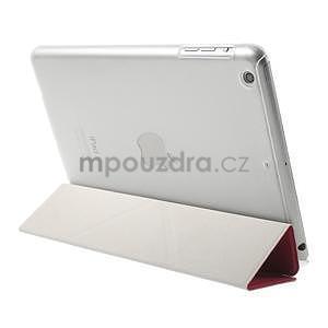 Origami ochranné puzdro iPad Mini 3, iPad Mini 2, iPad mini - rose - 4