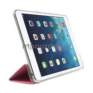 Origami ochranné puzdro iPad Mini 3, iPad Mini 2, iPad mini - ružové - 4