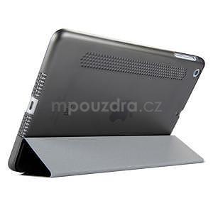 Lines polohovateľné puzdro na iPad Mini 3 / iPad Mini 2 / iPad mini - čierne - 4
