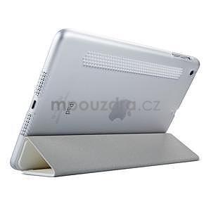 Lines polohovateľné puzdro na iPad Mini 3 / iPad Mini 2 / iPad mini - biele - 4