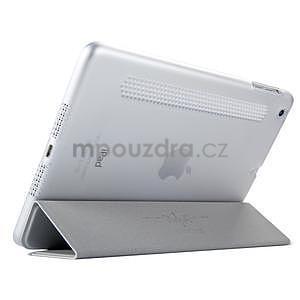 Lines polohovateľné puzdro pre iPad Mini 3 / iPad Mini 2 / iPad mini - sivé - 4