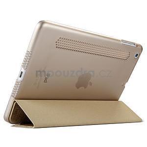 Lines polohovateľné puzdro pre iPad Mini 3 / iPad Mini 2 / iPad mini - zlaté - 4