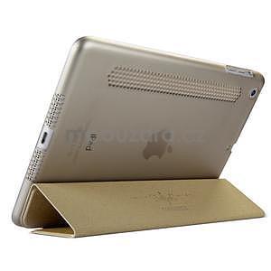Lines polohovateľné puzdro pre iPad Mini 3 / iPad Mini 2 / iPad mini - champagne - 4