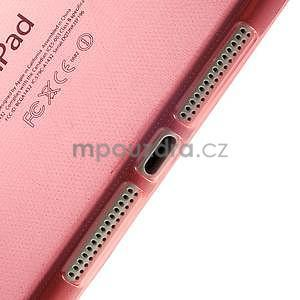 Ultra tenký slim obal pre iPad Mini 3, iPad Mini 2, iPad Mini - červený - 4