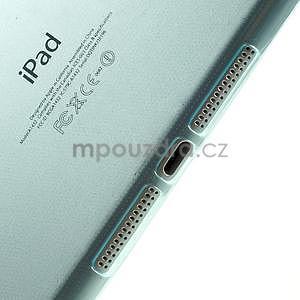 Ultra tenký slim obal pre iPad Mini 3, iPad Mini 2, iPad Mini - svetlemodrý - 4