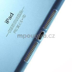 Ultra tenký slim obal pre iPad Mini 3, iPad Mini 2, iPad Mini - modrý - 4