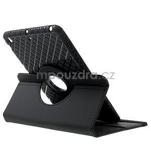Circu otočné puzdro pre Apple iPad Mini 3, iPad Mini 2 a ipad Mini - čierne - 4