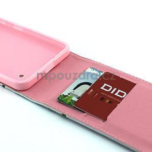 Flipové puzdro pre Microsoft Lumia 640 - sovi rodinka - 4