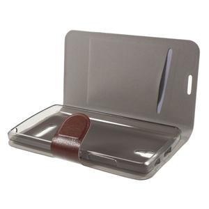 Horse peňaženkové puzdro pre Lenovo A2010 - hnedé - 4