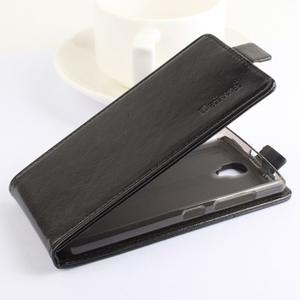 Flipové puzdro pre mobil Lenovo A2010 - hnedé - 4