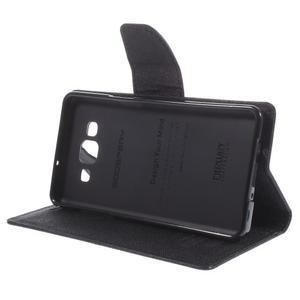 Mr. Fancy koženkové puzdro na Samsung Galaxy A5 - čierné - 4