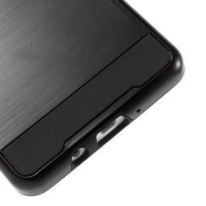 Hybridné gélové/plastové puzdro pre Samsung Galaxy A5 - čierné - 4
