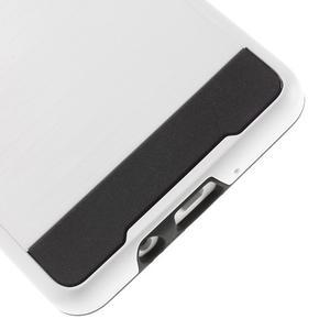 Hybridní gélové/plastové puzdro na Samsung Galaxy A5 - biele - 4