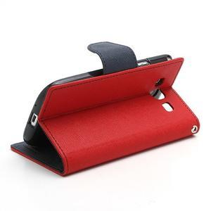 Mr. Fancy koženkové puzdro na Samsung Galaxy S3 - červené - 4